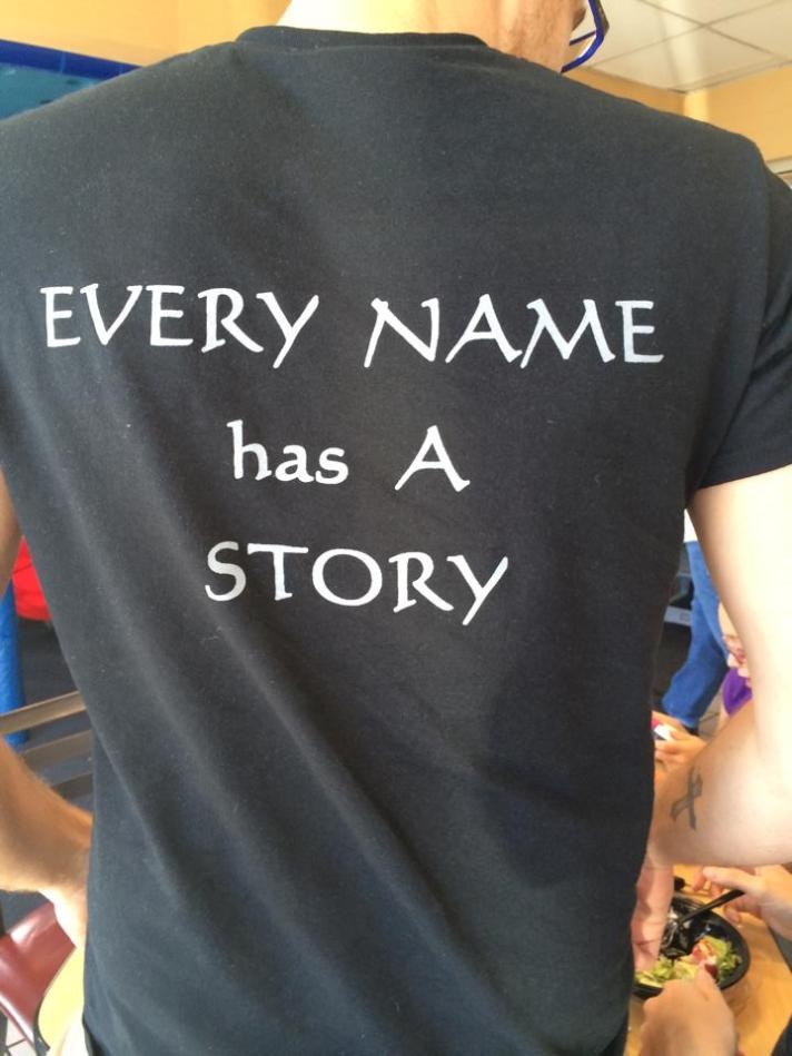 Every Name Has a Story Tshirt